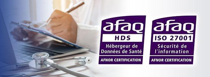 Dropcloud certification iso 27001 HDS
