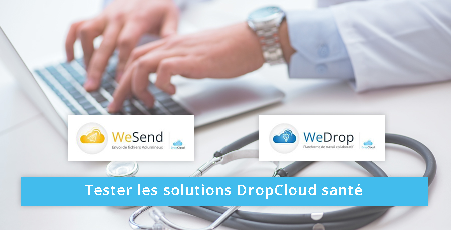 tester les solutions WeSend et WeDrop