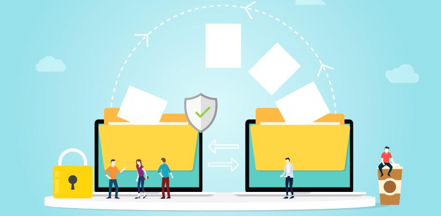 travail collaboratif envoie de fichier solution de travail en ligne